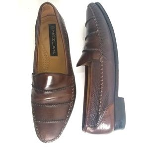 Mezlan | Brown Leather Loafers